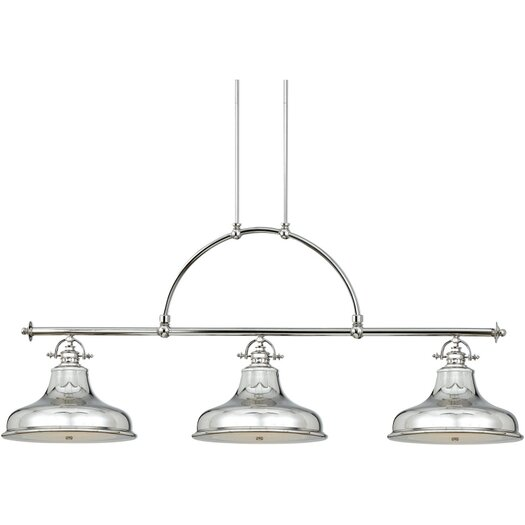 Quoizel Emery 3 Light Kitchen Island Pendant