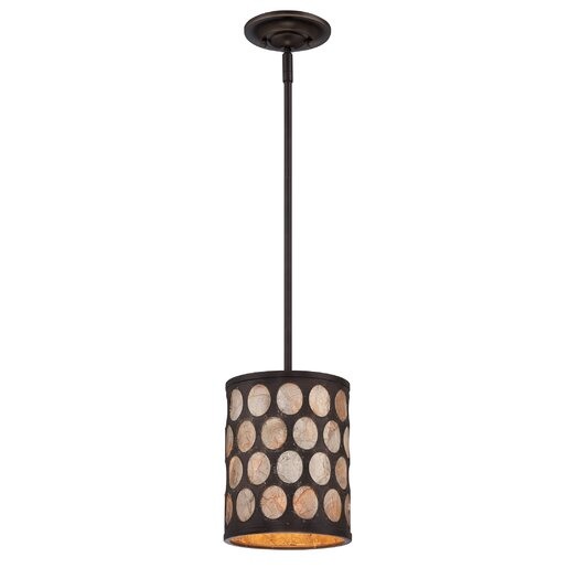 Quoizel Ariella 1 Light Mini Pendant