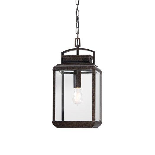 Quoizel Byron 1 Light Outdoor Hanging Lantern