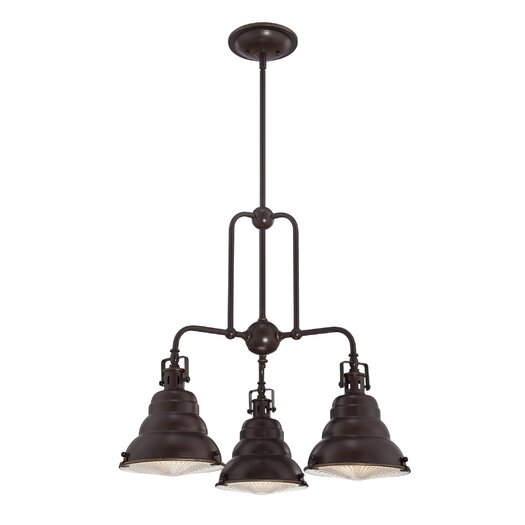 Quoizel Eastvale 3 Light Chandelier