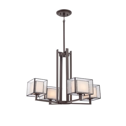 Quoizel Ferndale 4 Light Chandelier