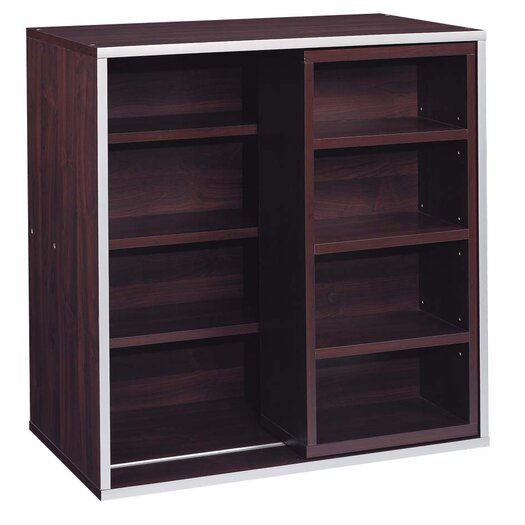 "OIA Quadrant Sliding 30"" Cube Bookcase"