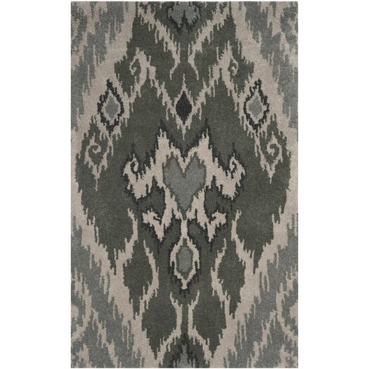 Safavieh Capri Grey / Green Area Rug