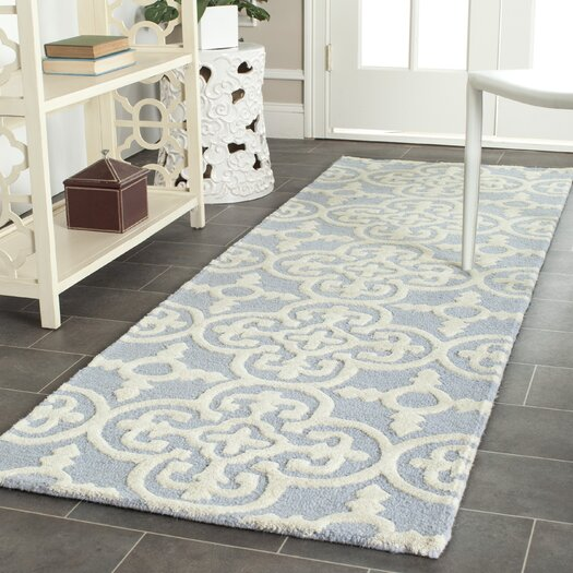 Safavieh Cambridge Light Blue / Ivory Area Rug