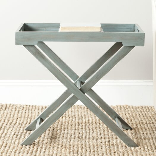 Safavieh American Home Leo End Table