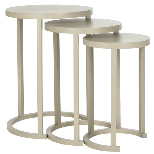 Safavieh Sawyer 3 Piece Nesting Table Set