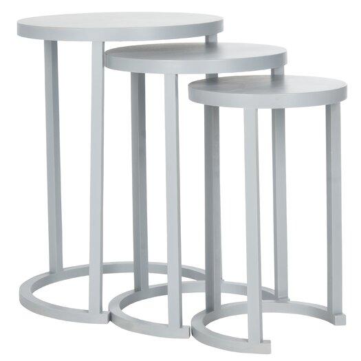 Safavieh Sawyer 3 Piece Nesting Table Set