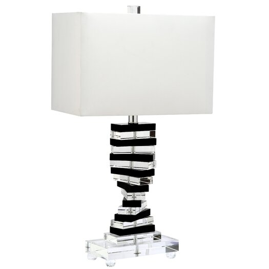 "Safavieh Key 25.75"" H Table Lamp with Rectangular Shade"