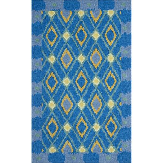 Safavieh Four Seasons Indigo/Yellow Area Rug