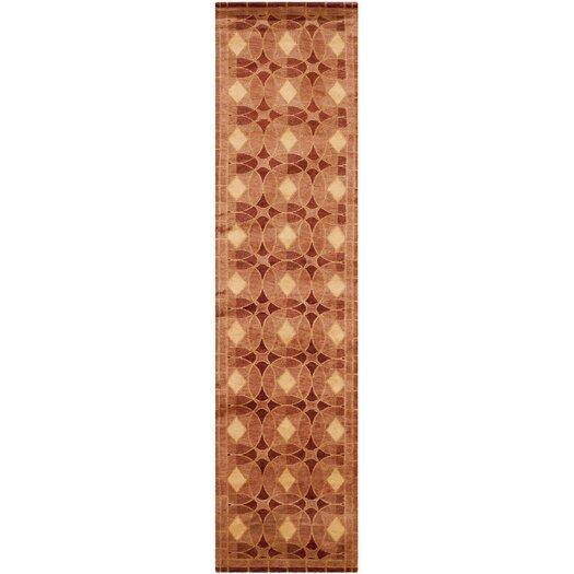Safavieh Tibetan Plum Rust Area Rug