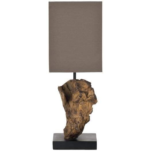 "Safavieh Uragon 19.7"" H Table Lamp with Square Shade"