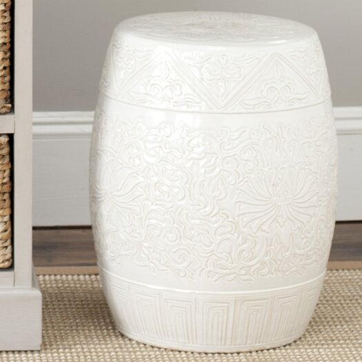 Safavieh Everest Gardens Embossed Stool