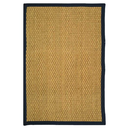 Safavieh Natural Fiber Natural/Blue Area Rug