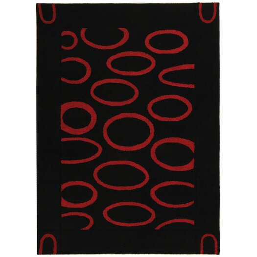 Safavieh Soho Black/Red Area Rug