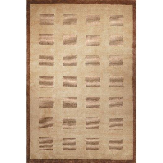 Safavieh Tibetan Brownstone Khaki/Java Area Rug