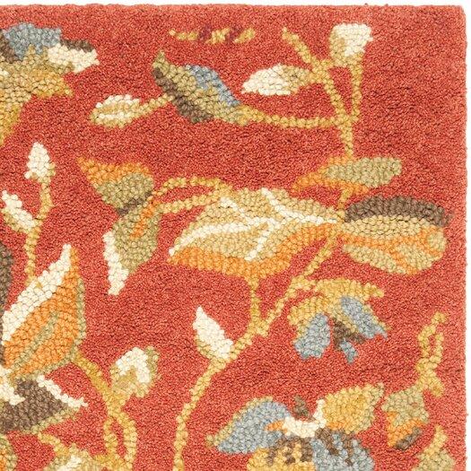 Safavieh Blossom Rust Floral Area Rug