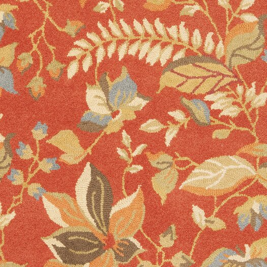 Safavieh Blossom Rust/Multi Area Rug