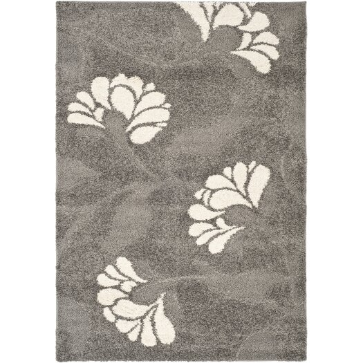 Safavieh Florida Shag Light Grey Area Rug