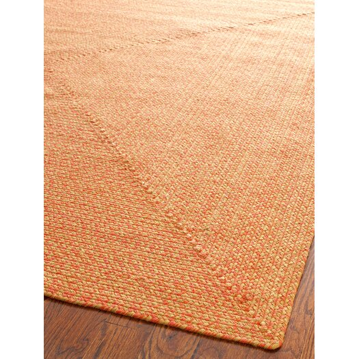 Safavieh Braided Beige/Multi Area Rug