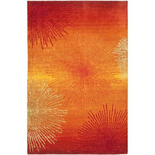 Safavieh Soho Rust/Orange Area Rug