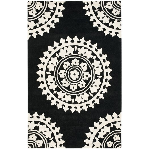 Safavieh Soho Black/Ivory Area Rug