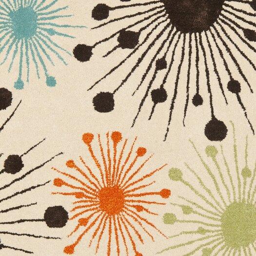 Safavieh Soho Ivory Fireworks Area Rug
