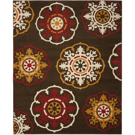 Safavieh Newbury Brown/Red Area Rug