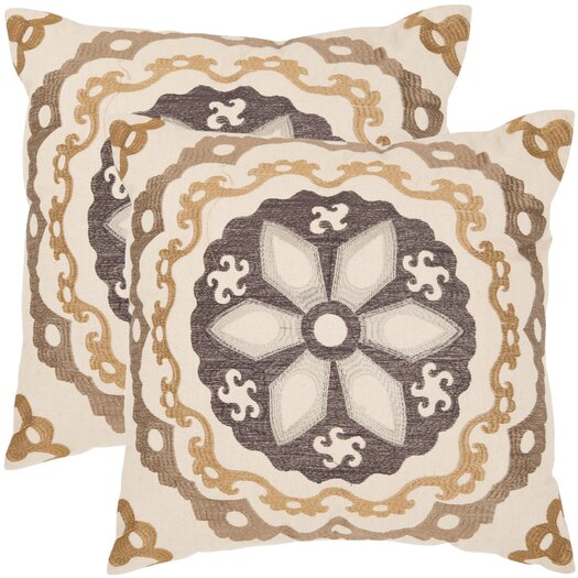 Safavieh Thea Linen / Cotton Decorative Pillow