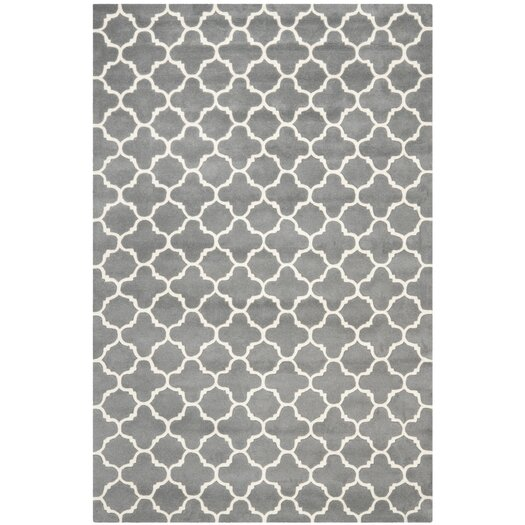 Safavieh Chatham Dark Grey & Ivory Area Rug