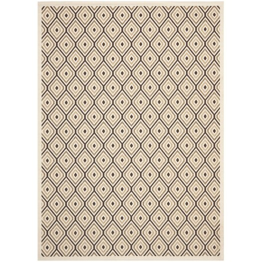 Safavieh Veranda Cream / Chocolate Rug