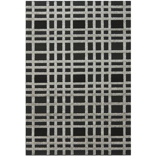 Safavieh York Charcoal/Black Area Rug