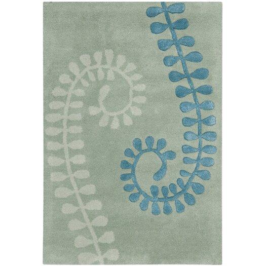 Safavieh Capri Silver / Light Blue Area Rug