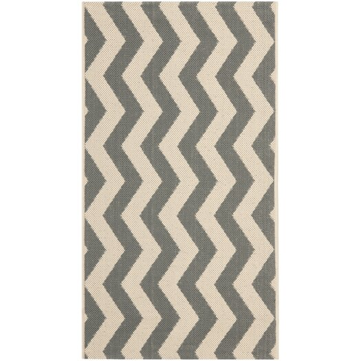 Safavieh Courtyard Grey/Beige Indoor/Outdoor Rug