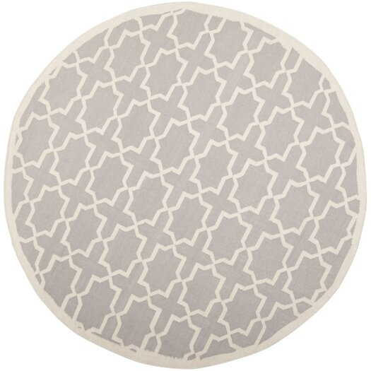 Safavieh Dhurries Purple/Ivory Area Rug