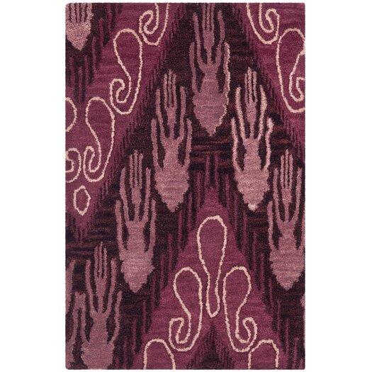 Safavieh Ikat Brown/ Purple Area Rug