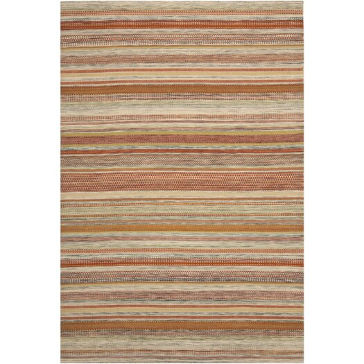 Safavieh Striped Kilim Beige Area Rug
