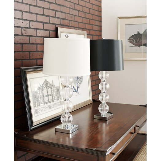 "Safavieh Sphere 30"" H Table Lamp with Drum Shade"