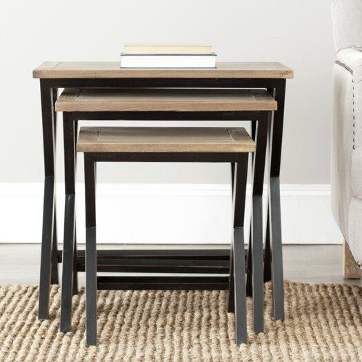 Safavieh 3 Piece Nesting Tables
