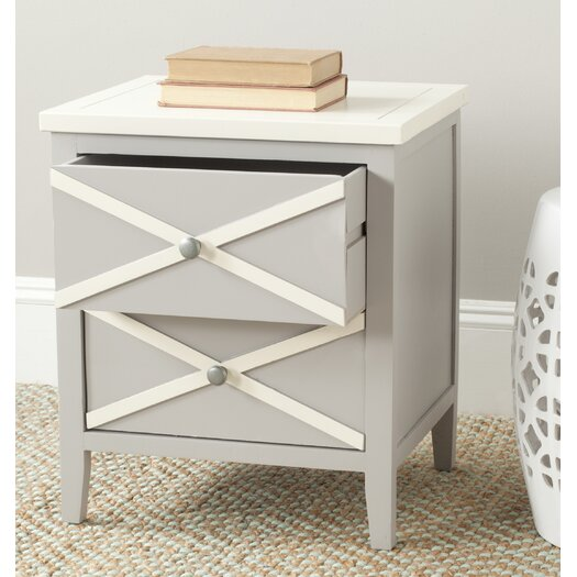 Safavieh Sherrilyn 2 Drawer End Table