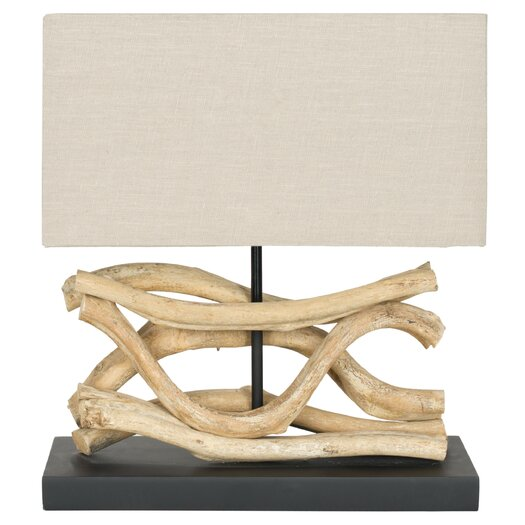 "Safavieh Laguna Vine 11"" H Table Lamp with Rectangular Shade"
