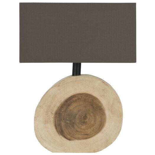 "Safavieh Forester 12.6"" H Table Lamp with Rectangular Shade"
