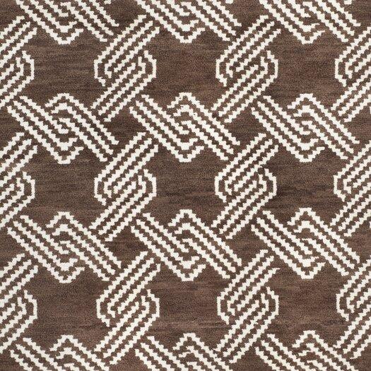 Safavieh Mosaic Brown / Creme Geometric Rug