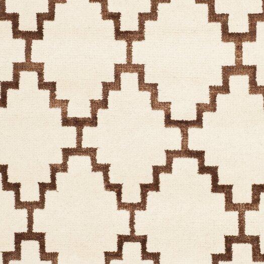 Safavieh Mosaic Ivory / Brown Geometric Rug
