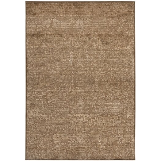 Safavieh Martha Stewart Heritage Bloom Soft Anthracite/Camel Area Rug