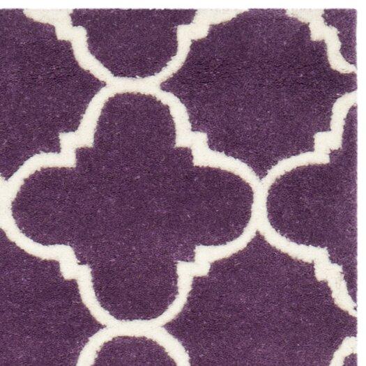 Safavieh Chatham Purple & Ivory Area Rug