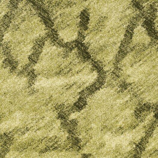 Safavieh Retro Green / Dark Green Rug