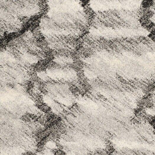 Safavieh Retro Light Grey / Black Rug