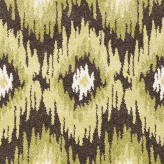 Safavieh Retro Dark Brown / Green Rug