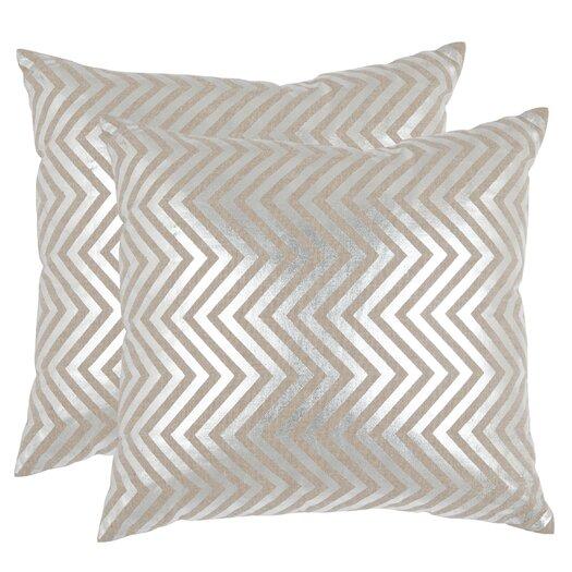 Safavieh Elle Linen Throw Pillow