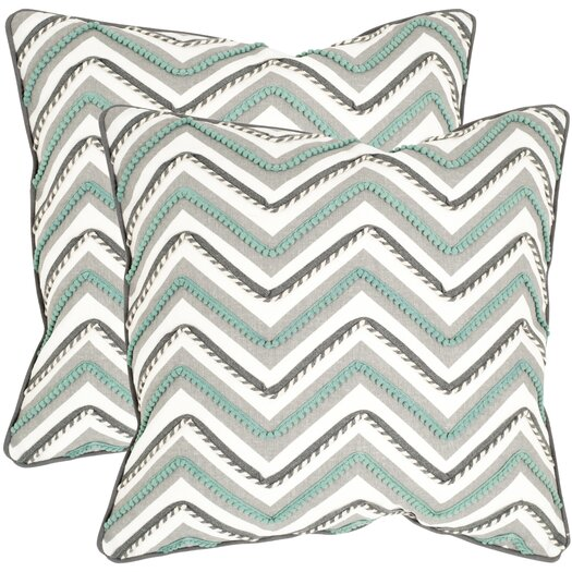 Safavieh Elli Cotton Decorative Throw Pillow
